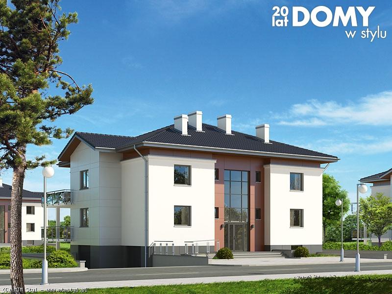 projekty domów wielorodzinnych
